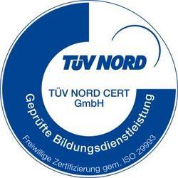 Geprüfte Bildungsdienstleistung TÜV NORD